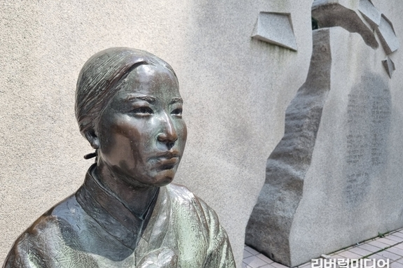[수원 기행] 수원의 상징 중 '나혜석 거리'가 있다